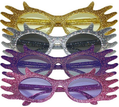 Discobril Waves Glitter Zilver