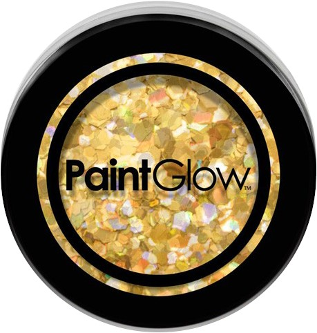 Paintglow Glitters Grof Goud 3gr.