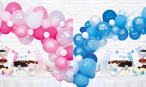 Babyshower Ballonnenboog