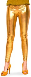 Legging Metallic Luxe Goud