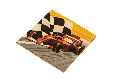 Servetten 12st Racer
