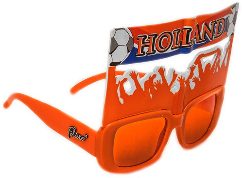 Bril Click-On Spandoek Oranje