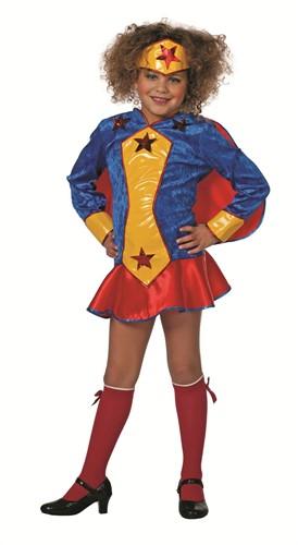 Meisjes Kostuum Wondergirl