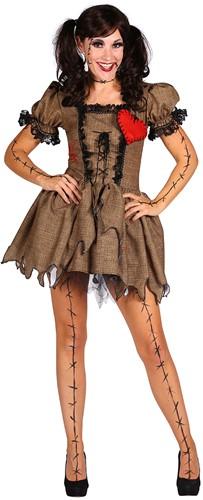 Dameskostuum Voodoo Doll