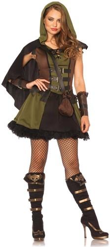 Dameskostuum Darling Robin Hood