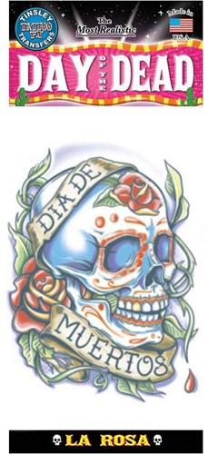 Tattoo Day of the Dead La Rosa