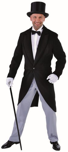 Jaquetjas Luxe Zwart