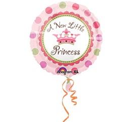 Folieballon A new little princess