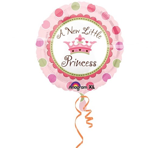 Folieballon A new little princess