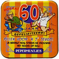 Pocket Tin 60 jaar Man