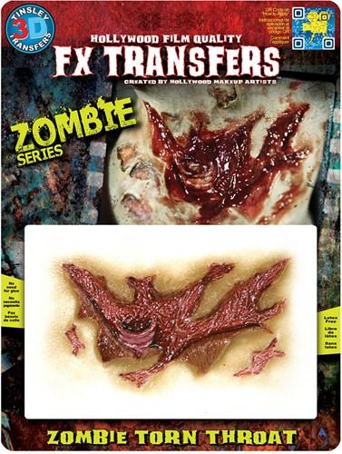 Professionele Wond FX - Zombie Torn Throat