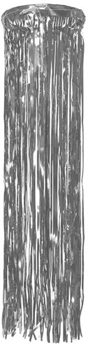 Hangdecoratie Folie Zilver (75cm)