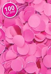 Confetti 100 gr Brandveilig Pink