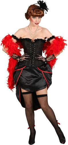 Korset Burlesque Zwart