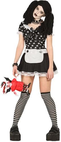 Dameskostuum Halloween Doll