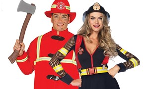 Carnavalsaccessoires Brandweer