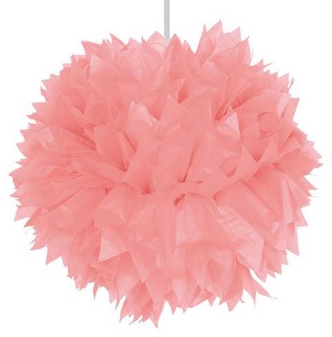 Decoratie Pompom Roze 30cm