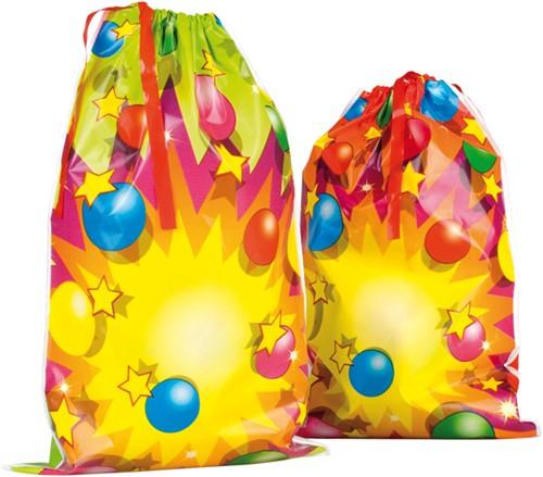 Feestzakjes Party Balls Happy Birthday 6st