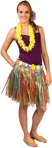 Hawaii Rokje Multicolor (45cm)