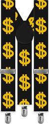 Bretels met Dollar-tekens