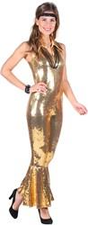 Pailletten Catsuit Luxe Goud voor dames