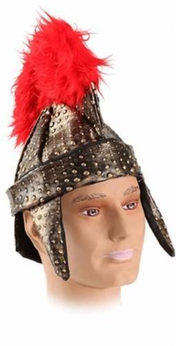 Romeinse Helm Leder