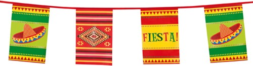 Vlaggenlijn Fiesta Mexico 10m