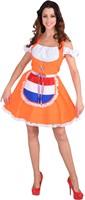 Damesjurkje Oranje Nederland
