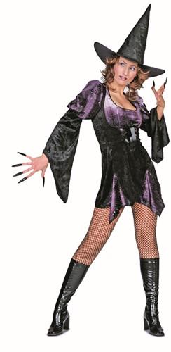 Damesjurk Sexy Heks Kort