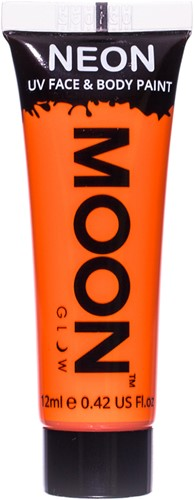 UV Gezicht en Body Schmink Oranje (12ml)