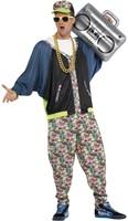 Eighties Hip Hop Kostuum voor heren