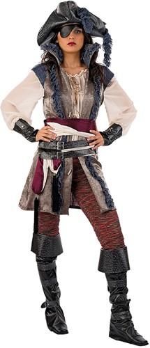 Dames Piratenkostuum Jacky Luxe
