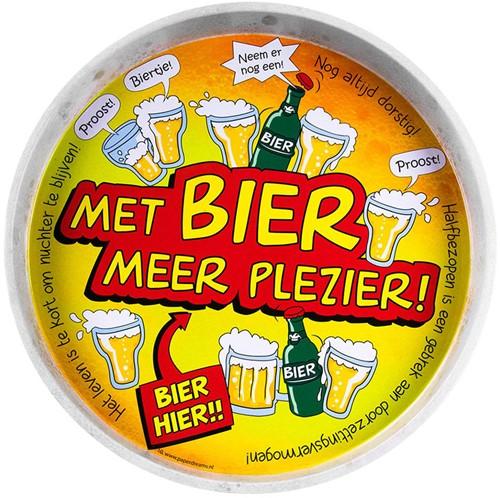 Dienblad Met bier meer plezier!