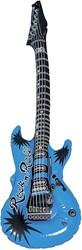 Opblaasbare Gitaar Blauw (100cm)