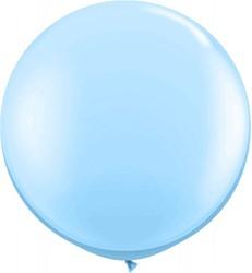 Topballon 90cm Lichtblauw