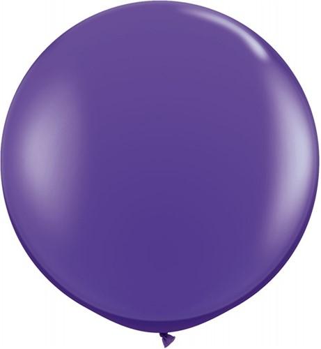 Topballon 90cm Paars
