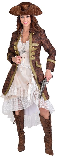 Piratenjas Bruin-Goud Antiek voor dames