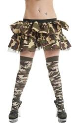 Dames Sokken Camouflage
