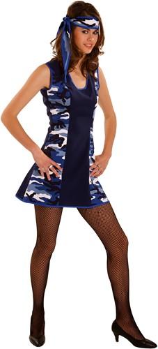 Camouflagejurkje Blauw