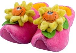 Happy Flower Pantoffels Roze