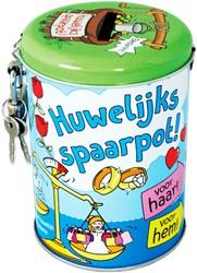 Spaarpot Huwelijks spaarpot cartoon