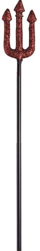 Drietand Duivel Glitter 58cm