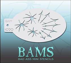 Bad Ass Schmink Stencil 1020