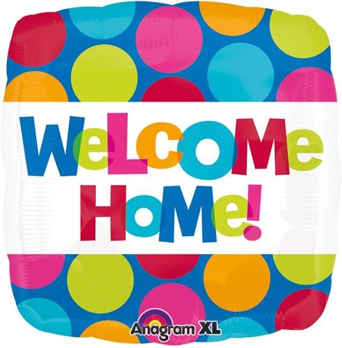 Folieballon Welcome Home (43cm)