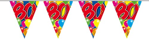 Vlaggenlijn 80 jaar 10mtr