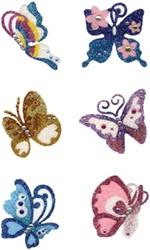 Glitter Tattoo Vlinder