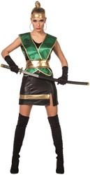Dameskostuum Groene Ninja
