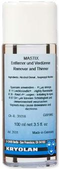 Mastix Remover Kryolan 100ml