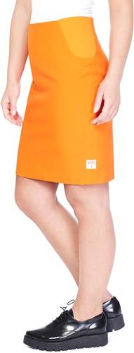 Dameskostuum OppoSuits Foxy Orange (kokerrok)