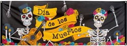 Banner Day of the Death (74x220cm)